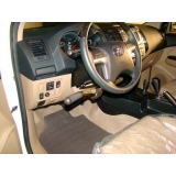 acelerador a esquerda em carro